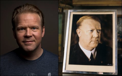 Skuespiller Anders Baasmo Christiansen vil spille Vidkun Quisling.