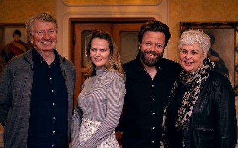 Kapellmester Per Christian Revholt, operasanger Mari Eriksmoen, skuespiller Kåre Conradi og kunstnerisk leder i Peer Gynt as, Ellen Horn.