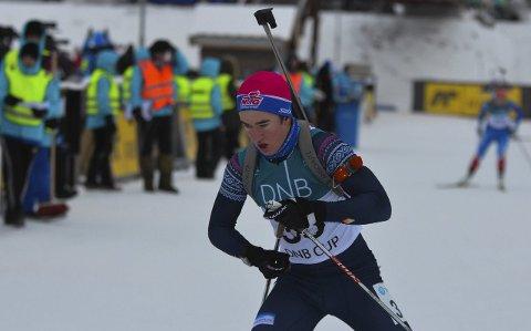BEST: Vebjørn Sørum tok NM-sølv og seier i norgescupen i helga, men kommer neppe til Ungdoms-OL på Lillehammer.