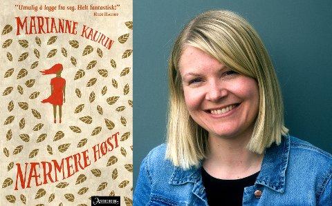 ANBEFALES: Bibliotekar Stine Andrea Heggen anbefaler «Nærmere høst» av Marianne Kaurin.