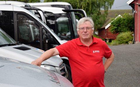 ENGSTELIGE: Rolf Lie ser at folk fortsatt er engstelige for å kjøre buss.
