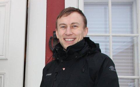 Har søkt: Daniel Håkegård blir ganske sikkert nye sokneprest i Brumunddal og Veldre.