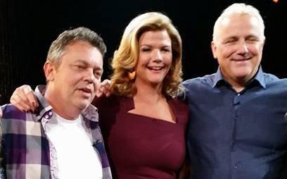 Trond Henriksen (tv), Anne Lindmo og Are Høidal.