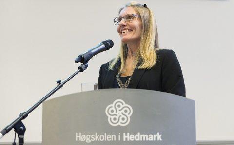 HISTORISK: Irene Trønnes Strøm har skrevet avhandlingen» Jeg er ikke norsk, vet du, jeg er internasjonal». Foto: Jo E. Brenden