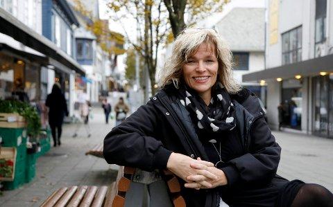 Ofte blid: Elisabeth Lie Nilsen spør seg hver kveld om hun har noe å være glad for i dag.