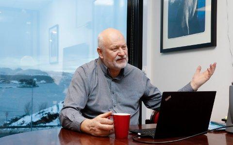 MYE PÅ GANG: Bjørn M. Apeland har sans for spennende muligheter, og driver med mye forskjellig i sitt Amar Group.