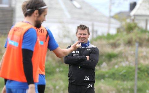 OFFENSIV: Jostein Grindhaug har lagt cupfadesen bak seg og forbereder seg på medaljekamp i Eliteserien.