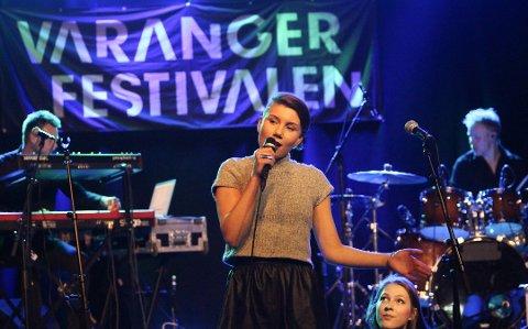 KLAR FOR TV-SKJERMEN: Ella Marie Isakensen Hætta. Foto: Eilif Aslaksen