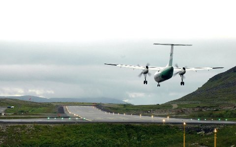 CHARTRET FLY: Nav i Troms og Finnmark valgte å chartre et fly fra Vadsø til Tromsø for å få med seg Nav-ansatte på en felles samling. Prislappen ble 8.800 kroner per person.