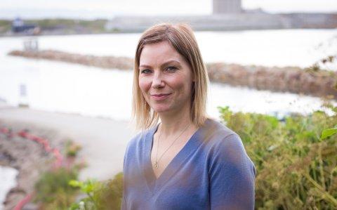 VADSØ: Christina Strige tok familien med seg tilbake til Vadsø.