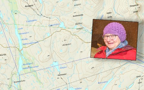 FØLGER GAMLE KART: Det er ikke fritt frem for å fortrenge samiske stedsnavn på plasser, forteller Aud-Kirsti Pedersen i Kartverket.
