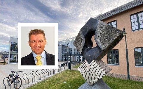 Direktør ved UiT Campus Harstad, Karl-Erik Arnesen.