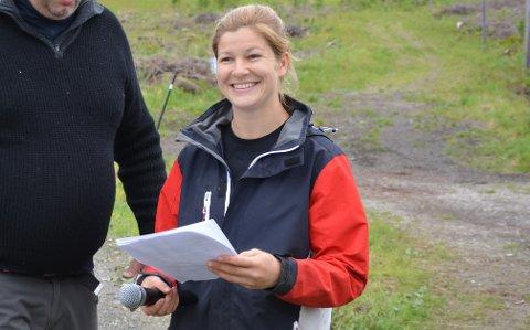 Utvikling: Mariann Fredriksen sitter også som leder i lokallaget til nordlandshest. Her ser vi bilde fra Helgelandskeid i fjord da hun var en av arrangørene.