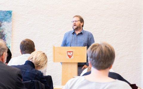 TILBAKE I KRF: Anders Undheim har berre fått positive reaksjonar etter at han melde seg inn i KrF igjen.