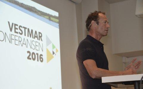 Fremtiden: – Vi må prioritere skole og utdanning, understreket Ivar Tollefsen på Vestmarkonferansen.