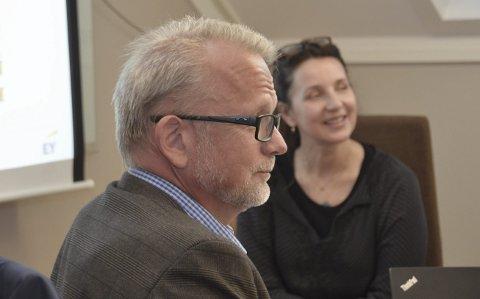 Fornøyde: Generalforsamlingen var fornøyd med årsmeldingen og regnskapet som administrerende direktør Geir Elsebutangen og styreleder Marie Røegh Edwardsen kunne legge fram.