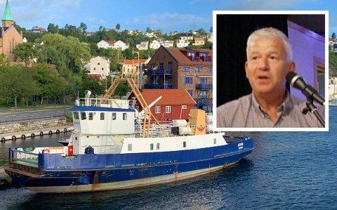 BILLETTPRISER: Jone Blikra (Ap) slår et slag for det lokale ferjetilbudet.