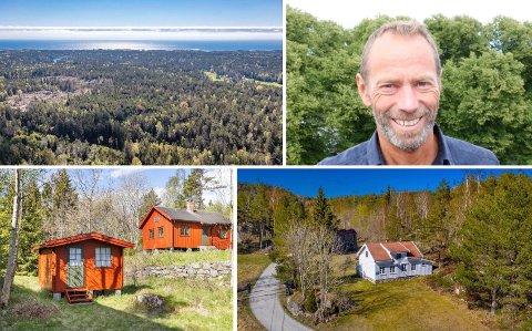 NYE OPPKJØP: Ivar Tollefsen har sikret seg to eiendommer på henholdsvis 400 og 700 mål.