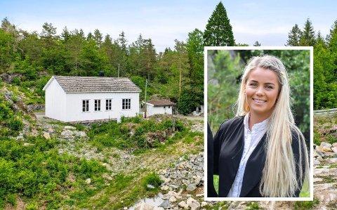 Det er eiendomsmekler Guro Hana som står for salget av bedehus-eiendommen i Fossing.