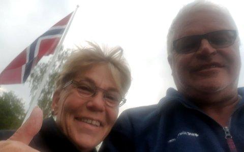 Jubel: Pinseaften 2019 ble en kveld utenom det vanlige for Heidi og Kai Runar Andersen fra Kongsberg.