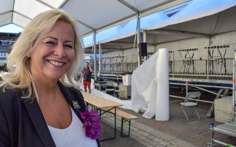 FORNØYD: Janne Johansen, administrerende direktør ved Quality Hotel Grand, kan smile bredt etter at 2019 ga rekord på flere fronter.