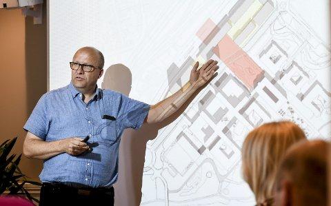 NY ROLLE: Administrerende direktør i Eidos, Torgeir Finnerud, får en ny rolle i selskapet.