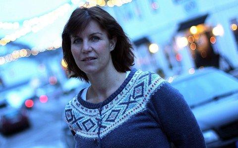 Vis hensyn: Daglig leder Karianne Steen i Lofoten friluftsråd mener man må ta hensyn, respektere tilretteleggingen og ikke ødelegge skiløypa for andre.FOto: Silje Reistad Christensen