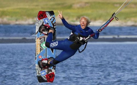 Lover moro: Kari Schibevaag inviterer til Arctic Kite Camp.Foto: Privat