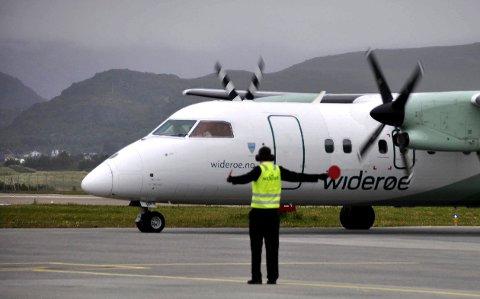 Vant Lofoten: At Widerøe vant ruteanbudet for de neste fem årene har vekket reaksjoner hos de konkurrerende flyselskapene i anbudskonkurransen.