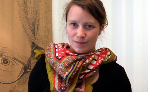 Bykunstner: Charlotte Rostad fra Kabelvåg er en av de nominerte til å bli bykunstner i Trondheim.foto: Arkiv