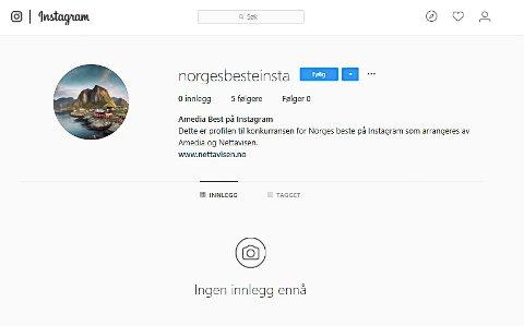 KONKURRANSE: Norges beste på instagram skal kåres. Du kan nå nominere deltagere fra Lofoten.