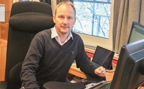 Ordfører Remi Solberg i Vestvågøy.