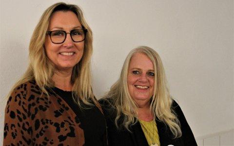 STEMMER: Marianne Kristiansdatter Finstad (t.v.) og Monica Larsen skal lese egne tekster om overgrep på onsdagens «Messe for verdighet» i Hol kirke.