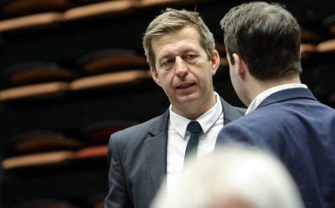 Politiske roller: - Jeg reagerer på at Tage Pettersen som Moss Høyres mest sentrale politiker også er leder av kontrollutvalget, sier Finn-Erik Blakstad.