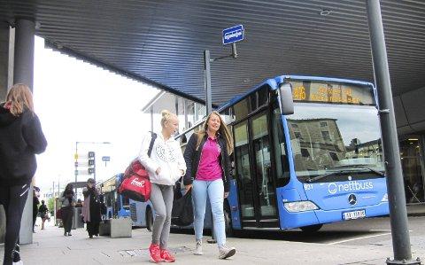 Gratis: Bussen skal mange steder være et gratistilbud for innbyggerne. foto: helge warberg-knoll