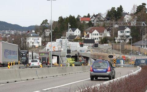 GJENÅPNES: Brynstunnelen gjenåpnes  for toveis trafikk lørdag29. april klokken 18.