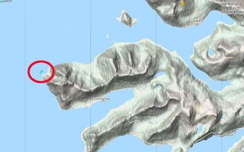 RYKKET UT: Her lette redningskøyta «Dagfinn Paust» tirsdag kveld.