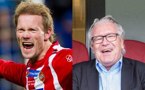 GJESTEPAR: Ole Martin Årst og Davy Wathne er begge med på linja i den nyeste episoden av vår fotballpodkast JoMos Kosmos.