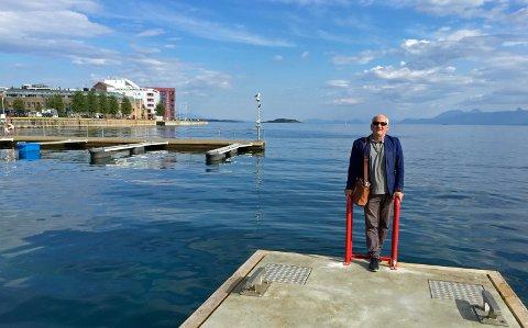 - Med tanke på den situasjonen Nord-Norge har vært i forhold til hovedstaden – så forundrer det meg at Tromsø har utviklet samme holdninger til resten av landsdelen, sier Rolf Olsen i Harstad. Foto: Linda Vaeng Sæbbe