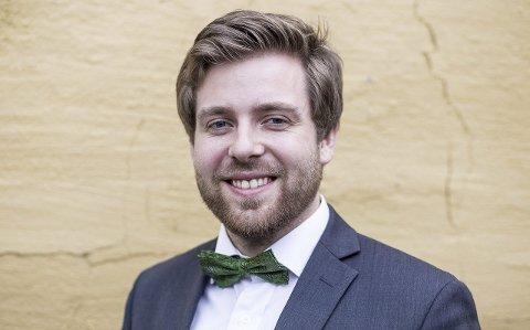 STUDENTPOLITIKER: Morten Djupdal fra Fagernes skal representere 38.000 studenter når NTNU skal slås sammen med høgskolene i Gjøvik, Ålesund og Sør-Trøndelag. Selv studerer han i Trondheim.Foto: Mikkel Walle