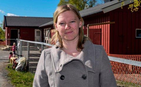 OMSIDER: Mandag - to uker etter barna og de ordinært ansatte - tillot regelverket Tonje Maria Lundborg å dra tilbake til praksisjobben sin i Hov barnehage.