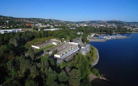 VEDLIKEHOLD: Gjøvik kommune varslet via Facebook utslipp som følge av vedlikehold på pumpestasjon. Bildet viser renseanlegget på Rambekk, ikke den aktuelle pumpestasjonen.