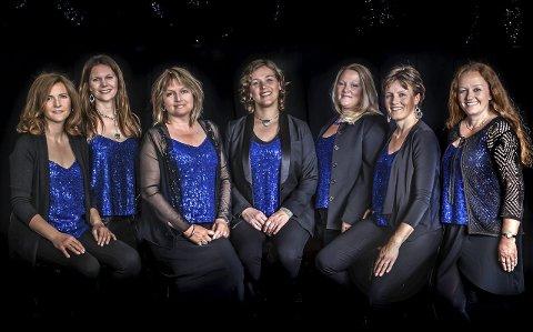 Mezzo: Fra venstre Anita Myrmæl, Tone Jenny Næss, Grete Mørch, Kris Nelvik, Siw Bakke Jørstad, Turi Rødset Theimann og Linn Oprea.Foto: Studio Beth