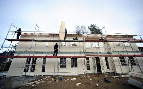 Gir jobb til flere: Det siste halvåret har tømrere og snekkere vært blant de mest ønskede på arbeidsmarkedet. illustrasjonsfoto