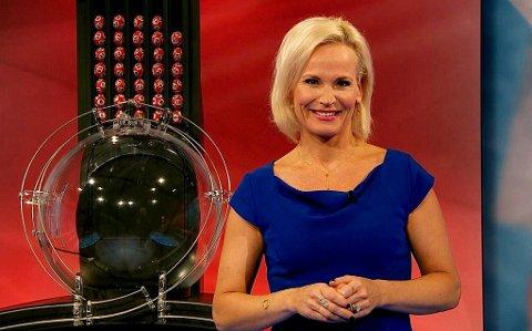 Programleder for Lotto, Ingeborg Myhre. Illustrasjonsbilde Norsk tipping