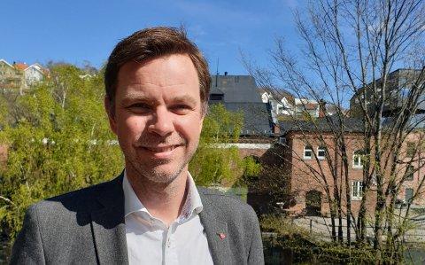 KANDIDAT: Truls Vasvik fra Larvik står på lista ved neste Stortingsvalg. (arkivfoto)