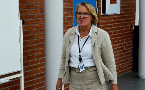 UTVIDET KAPASITET: Administrerende direktør Alice Beathe Andersgaard sier Sykehuset Innlandet er i ferd med å utvide kapasiteten kraftig for å kunne ta imot et betydelig antall koronapasienter og behandle dem på en god måte.