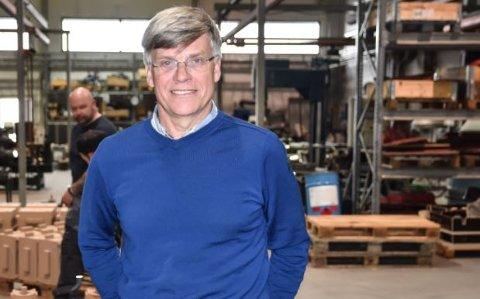 TOPPLEDER: Rune Midtun er daglig leder ved Østlandske Lettmetall AS. Han har hatt samme jobben ved Sperre.