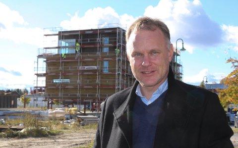 KOMMUNEDIREKTØR: Otto Langmoen startet som kommunedirektør i Åsnes i februar.