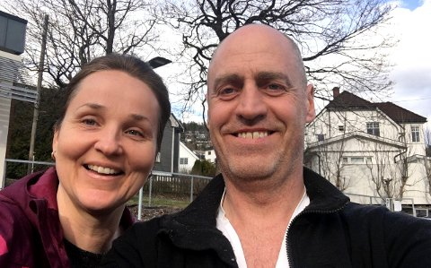 Raymond Johansen og Camilla Andresen-Lima sikret seg både bolig og kafé da de kjøpte Villa Veierland nylig. I juni flytter de inn.